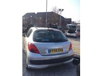 Peugeot 207 very low miles not Renault ford