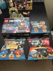 Lego Dimension Sets Brand New Seald ET Ghostbuster Harry Potter