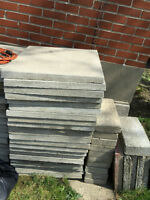 Cement Paving Stones 24 inches by 24 inches