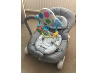 Chicco Balloon Bouncing Chair - Grey