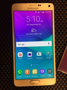 Note 4 mint condition !!wind mobile