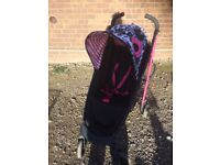 Cosatto pushchair with rain cover