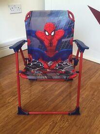 Kids Spider-Man Fold Away Chair £2