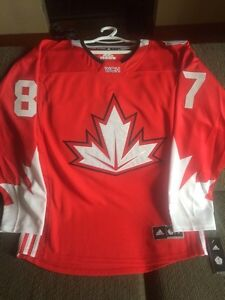 SIDNEY CROSBY World Cup of Hockey Official Jersey