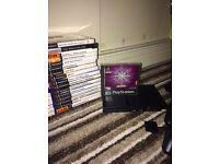 Playstation 2 Slim Black + 30 Games