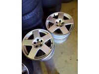 Audi TT 5x100 Speedline alloys will fit golf, bora, polo, skoda (any vw group) 16Inch