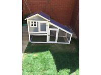 2 story rabbit hutch used for 2 months in ex condition