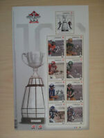 Set of CFL 100th Grey Cup stamps