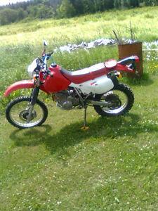 Honda xr xr650l xr 650 l xr 650l 2008 dual sport bike