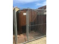 For sale dog run galvanise steel