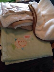 3 baby blankets