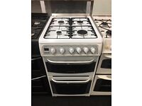 CANNON 50CM ALL GAS COOKER IN WHITE.