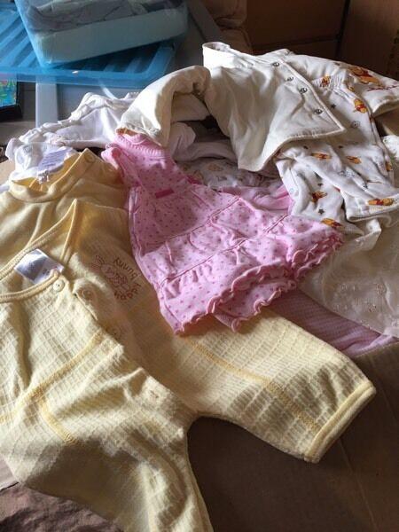 Free boxgirl clothes 0 3mthsin Everton, MerseysideGumtree - Free