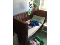Beautiful cot bed with massive draw underneath