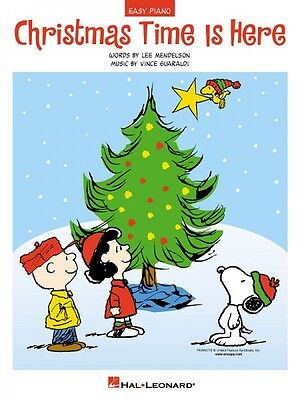 Christmas Time Is Here Sheet Music Easy Piano NEW Vince Guaraldi 000110118