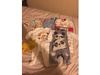 Up to 1 month baby grows