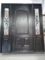 TIMED ONLINE ONLY AUCTION - DOORS, WINDOWS & VANITIES
