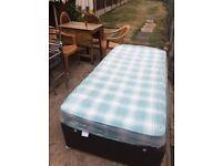 mattress + bed singiel
