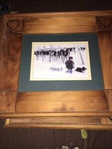 Country pictures with wooden frames Cambridge Kitchener Area image 4