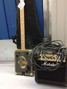 cigarebox avec ampli Marshall