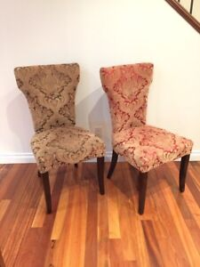 Pier 1 chairs - excellent condition!