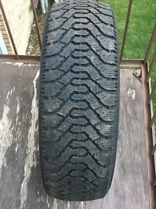 TWO(2) Goodyear Nordic winter tire P205/55R16