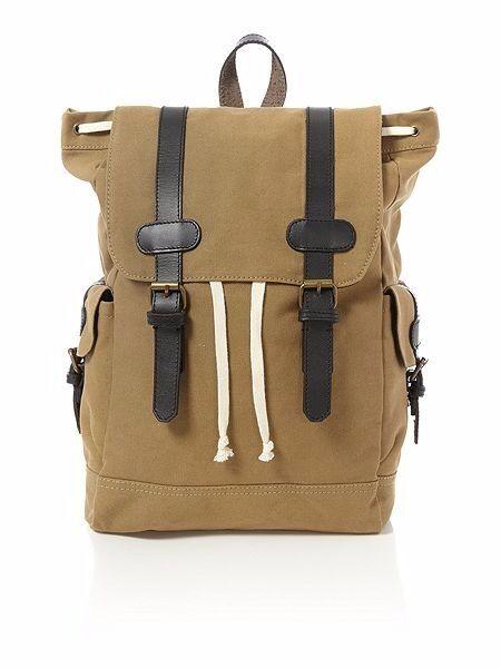 Brand New Howick Stone Canvas Rucksack Backpack £55 RRP