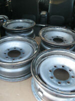 GM 8 bolt steel rims 2500, 3500 series truck