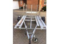 Car transport lightweight trailer