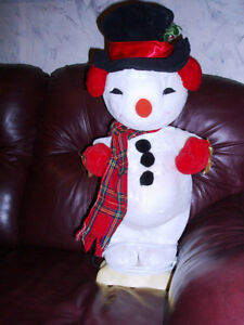 Large Animated Snowman