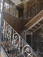 Custom residential & commercial railings &a gates