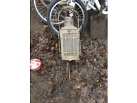 Outdoor lamp barn find