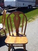 Dining table/ 6 chairs
