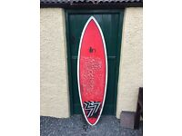 UpNorth Quadromatic surfboard 6'0