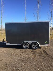 2014 Neo 7x14 all Aluminum enclosed trailer