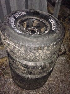 35x12.50x15 tires on Ford rims