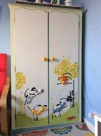 Children's wardrobe (designer Heather Spencer)