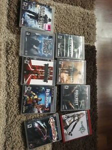 PS3 games for sale all for 50 obo