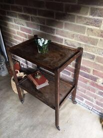 GENUINE VINTAGE 1940s TRA TROLLEY FREE DELIVERY