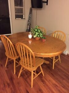 4 Piece Dining Table