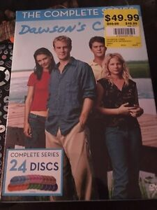 Selling brand-new complete series of Dawsons creek