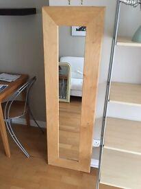 Ikea long mirror
