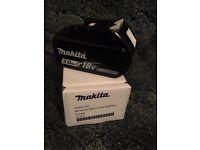 Makita 5ah batteries brand new !!!