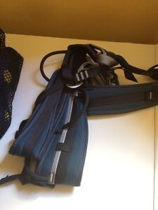 Climbing harness and shoes size 5 Kawartha Lakes Peterborough Area image 1