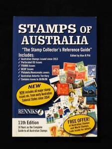 Stamps of Australia - 11th Edition - Edited by Alan B Pitt Loganholme Logan Area Preview