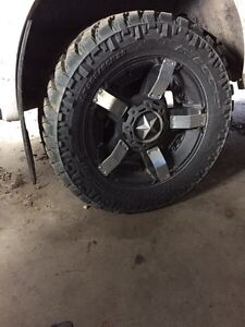 Rockstar II Rims and Nitto Trail Grappler MT Tires