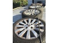 Rover 25 alloy wheels and Tyres