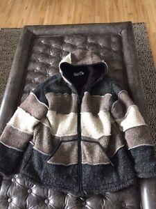 Men's Wool Hoodie XL