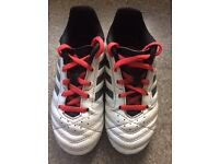 Adidas infant firm ground football boots size 11