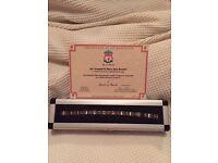 Liverpool gold men's bracelet